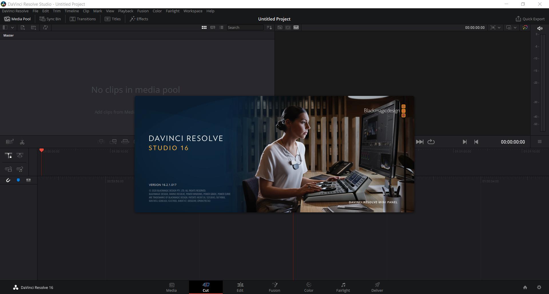 DaVinci Resolve Studio 16.2.7.010 (x64) | Katılımsız