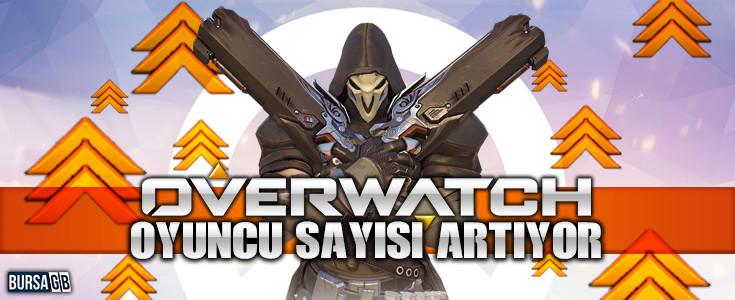 Overwatch'in Oyuncu Sayisi Artiyor