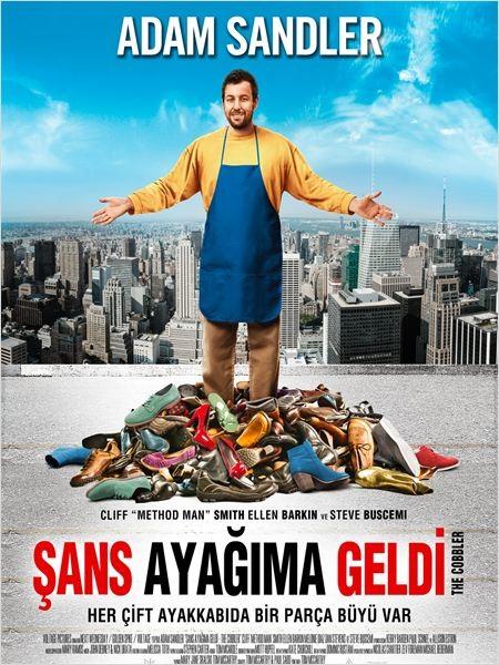 Şans Ayağıma Geldi - The Cobbler (2014) - türkçe dublaj film indir