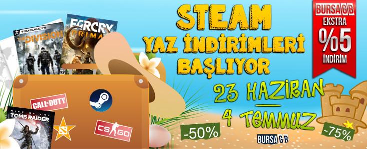 Steam Yaz İndirimleri 2016 Çok Yakında