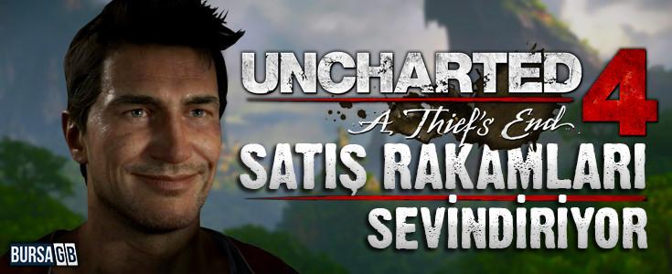 Uncharted 4 Satis Rakamlari Sevindiriyor