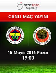 Fenerbahçe – Gençlerbirliği 33.Hafta HDTV 720p – indir