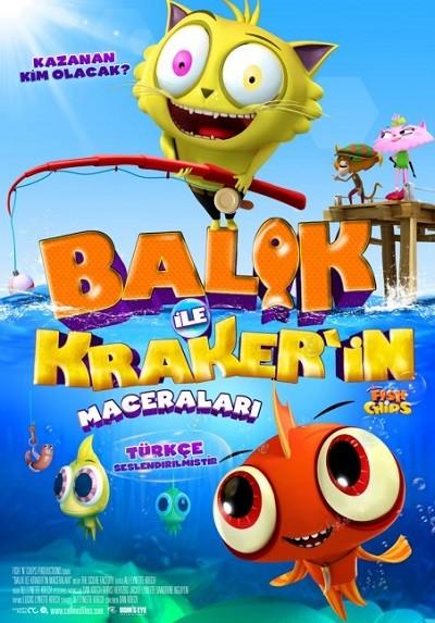 Balık ile Kraker'in maceraları 2013 ( BRRip XviD ) Türkçe Dublaj - Tek Link