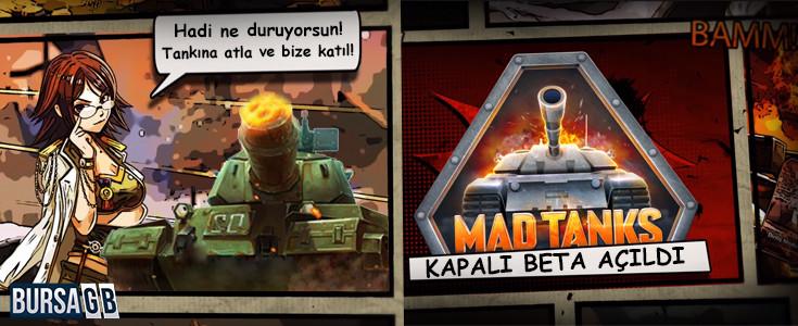 Mad Tanks Kapali Beta Basladi