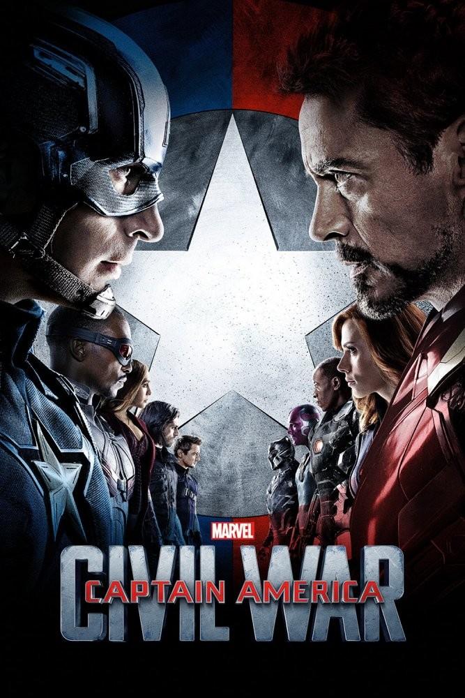 Captain America: Civil War - Kaptan Amerika: Kahramanların Savaşı (2016) - türkçe dublaj film indir
