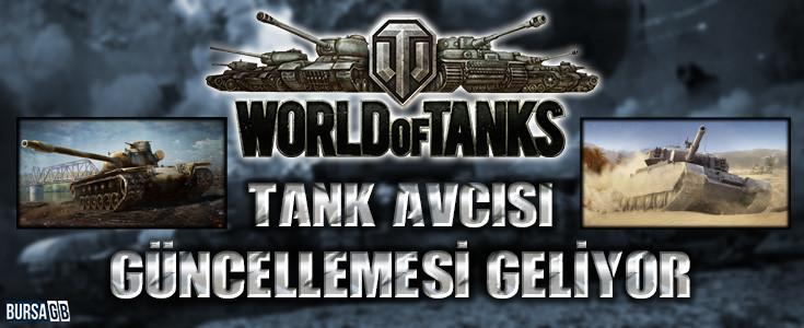 World of Tanks PS4 İçin Tank Avcısı Güncellemesi Geliyor
