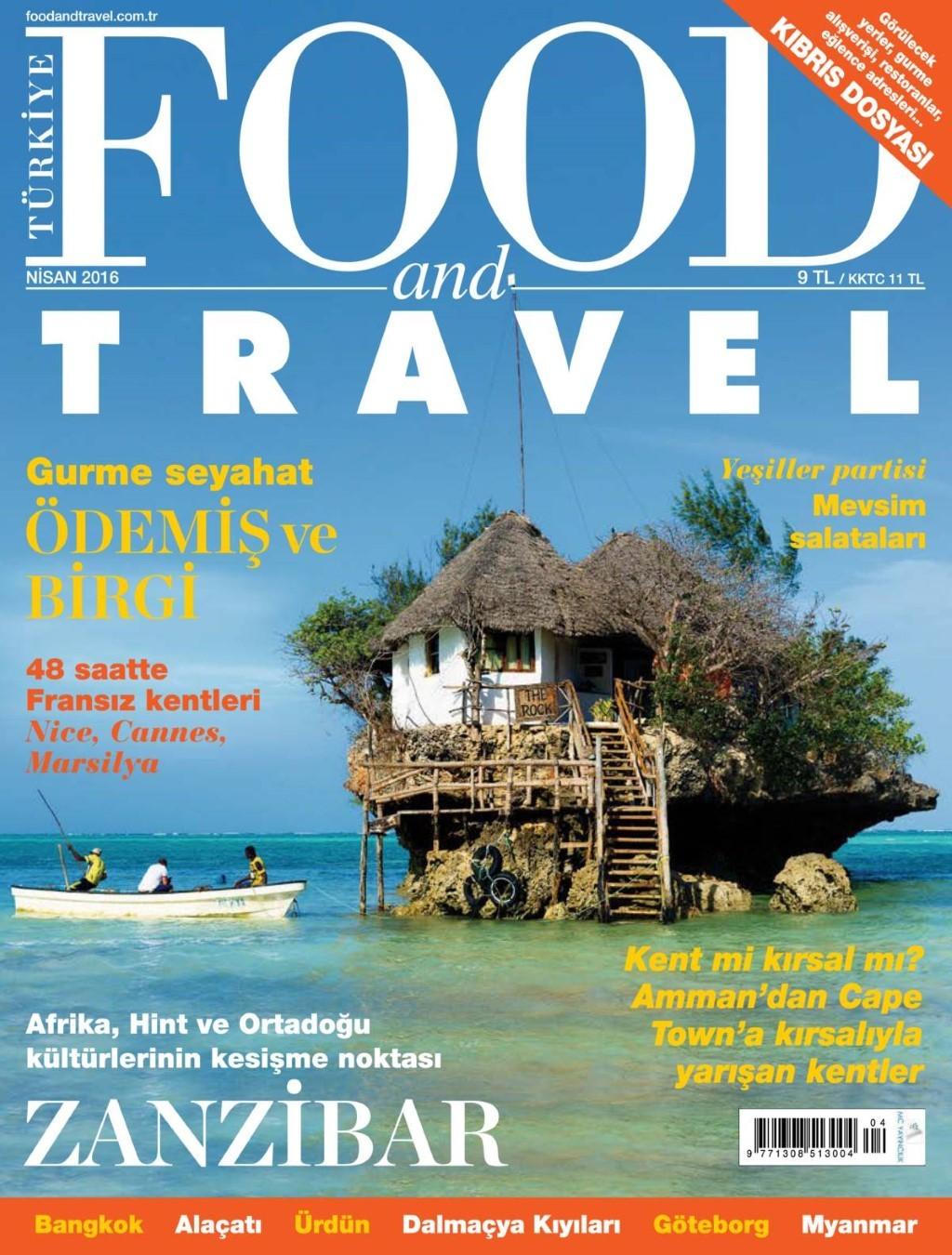 Food Travel Nisan Nisan E-dergi indir Sandalca.com