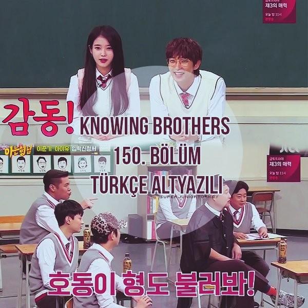 Knowing Brothers 150. Bölüm (IU, Lee Joon Gi) [Türkçe Altyazılı] V68kZR