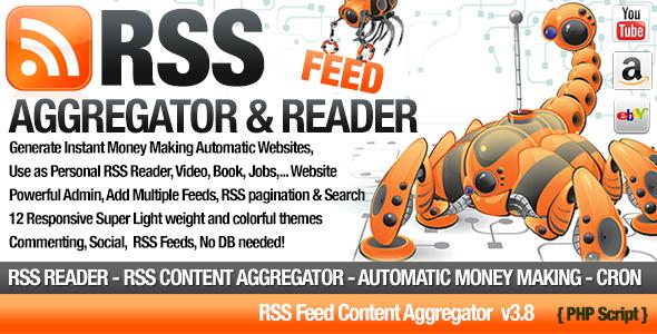 Niche Site RSS Site Scripti