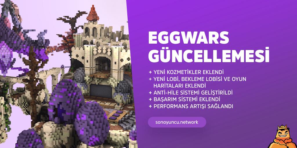EggWars Güncellemesi