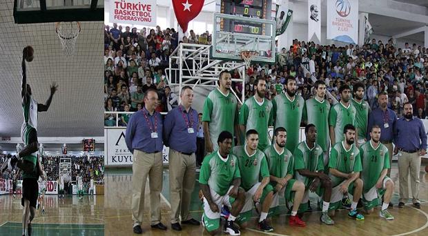 Yeşilgiresun Belediyespor,TBL'ye yükseldi