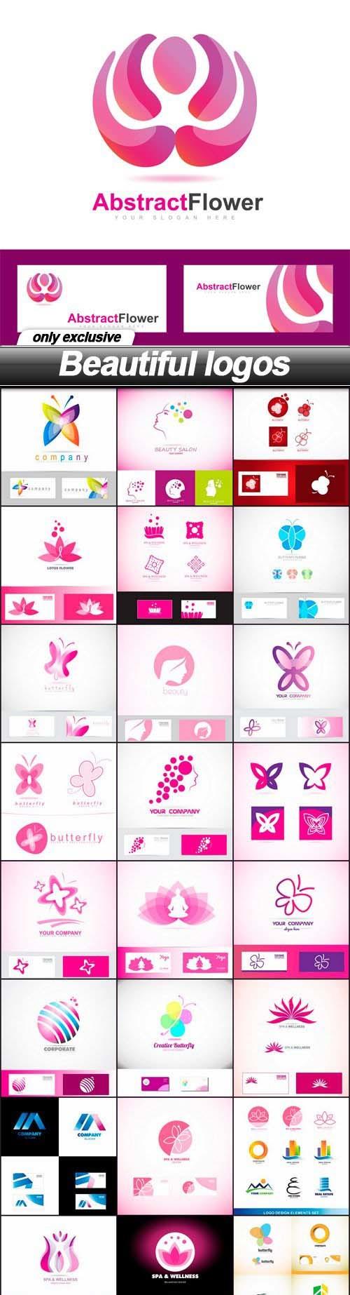 Beautiful Vector Logos – 25 EPS