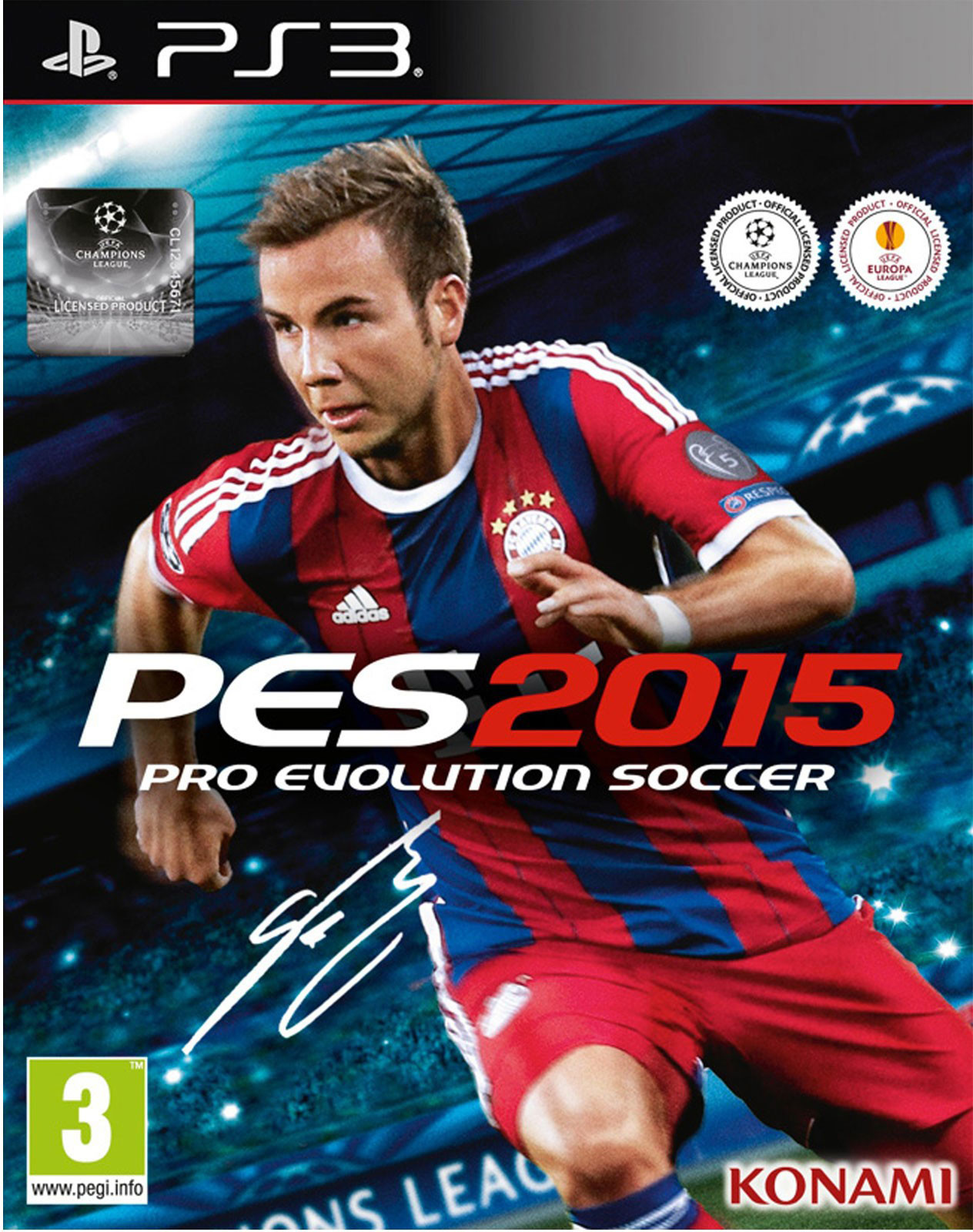 PES 2015 PS3 Oyun İndir !