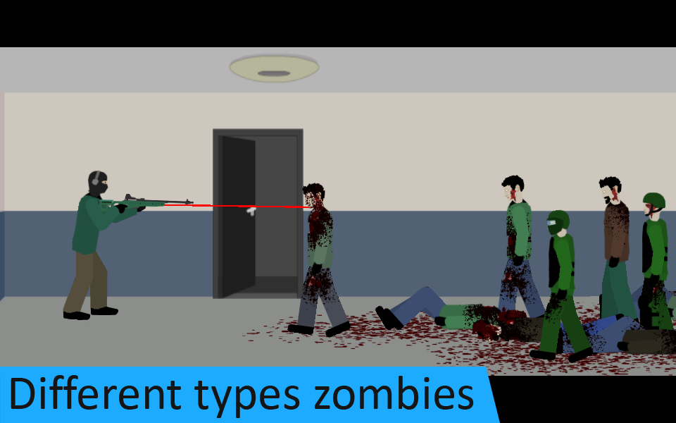 Flat Zombies: Defense & Cleanup Apk İndir