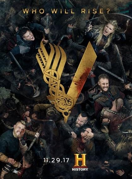 Vikings 2017 5.Sezon Tüm Bölümler ( WEBRip XviD ) Türkçe Dublaj indir