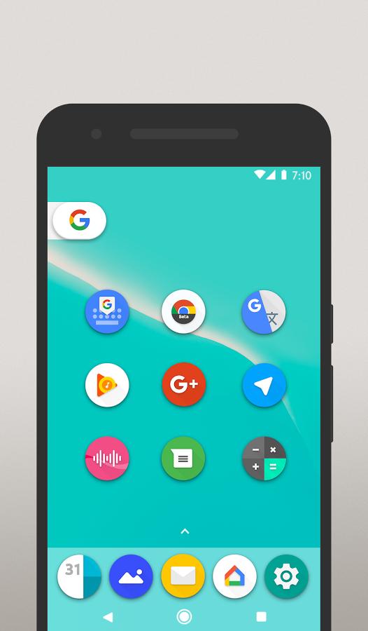 Pixel 2 Icon Pack / Oreo Style Apk İndir