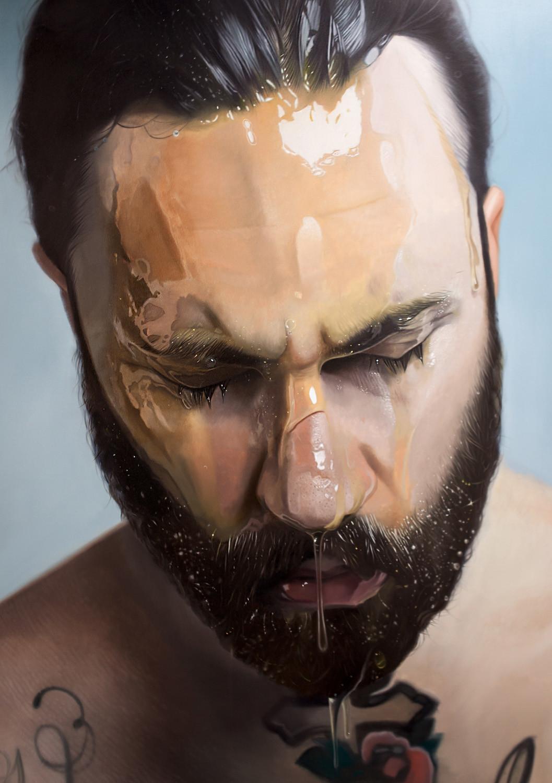 Mike Dargas'ın Gerçekliğiyle Hayrete Düşüren Hiperrealist Sanat Eserleri 17. resim