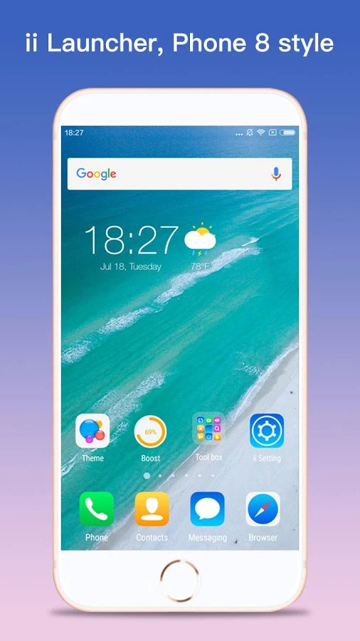 ii Launcher for Phone 7 & Plus Apk