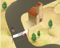 köy yolu yarış oyunu