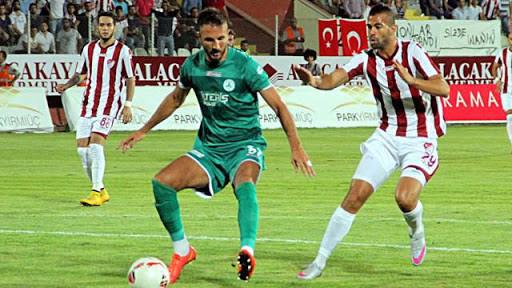 Elaz��spor 1-1 Giresunspor
