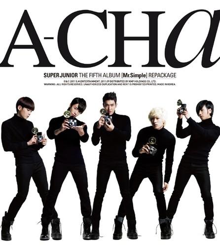 Super Junior A-CHA Photoshoot VP3424