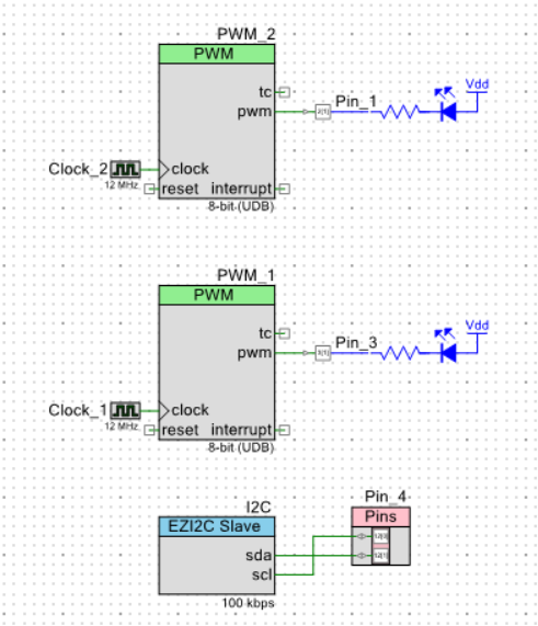 i2c between Arduino and PSoC – A  Faruk