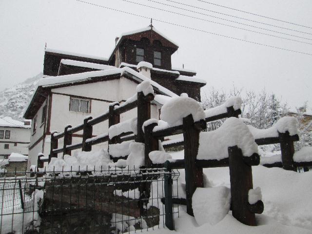 Mudurnu'dan 2015 in ilk günü Kar manzaraları