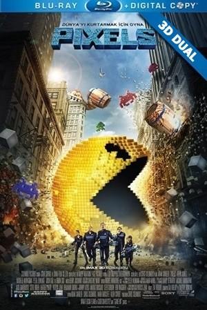 Pixels 3D 2015 3D HALF-SBS BluRay 1080p DuaL TR-EN – Tek Link