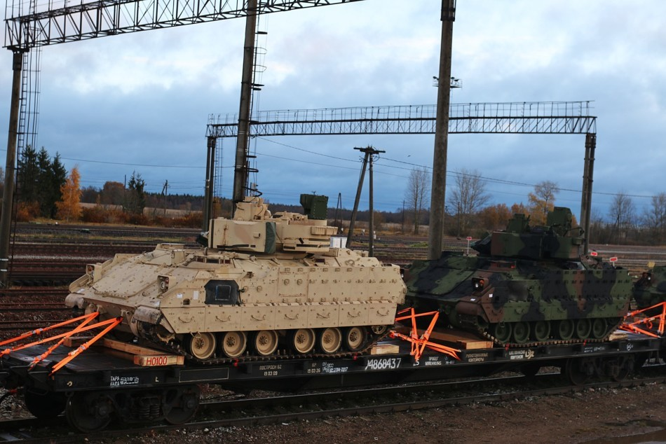 American Tanks In Estonia 3