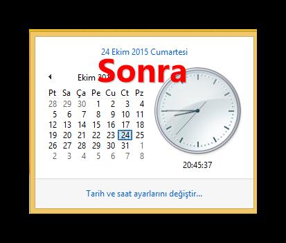 Yaz Saati Uygulaması 2015 Güncellemesi