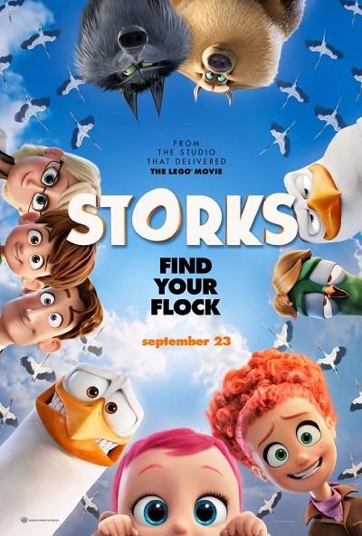 Leylekler - Storks (2016) Türkçe Dublaj BDRip XviD - TURG
