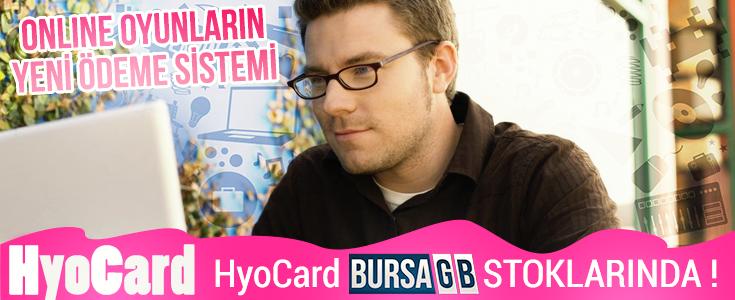 BursaGB de HyoCard Satışı Başladı !