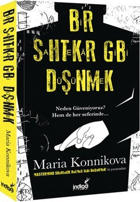 Maria Konnikova Bir Sahtekar Gibi Düşünmek Pdf E-kitap indir