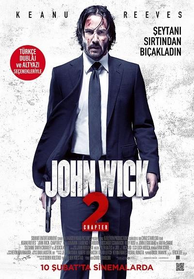 John Wick 2 2017 – 720p 1080p – m1080p XviD Türkçe Dublaj indir
