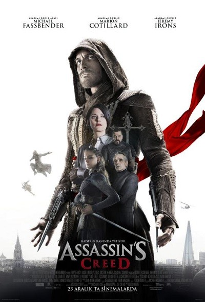 Assassin's Creed 2016 m720p – m1080p DUAL TR-ENG – Film indir