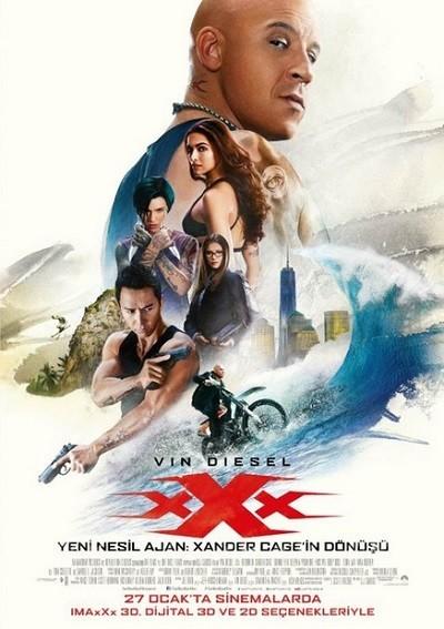 Yeni Nesil Ajan: Xander Cage In Dönüşü | 2017 | BRRip XviD | Türkçe Dublaj