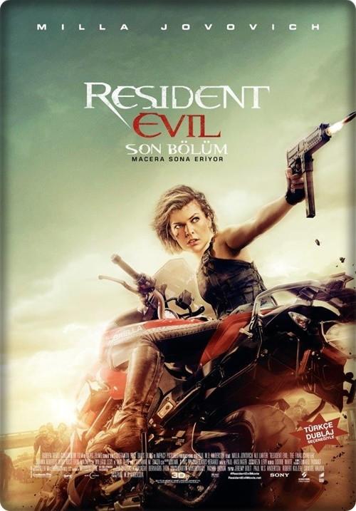 Ölümcül Deney: Son Bölüm - Resident Evil: The Final Chapter 2016 (Türkçe Dublaj) BRRip XviD