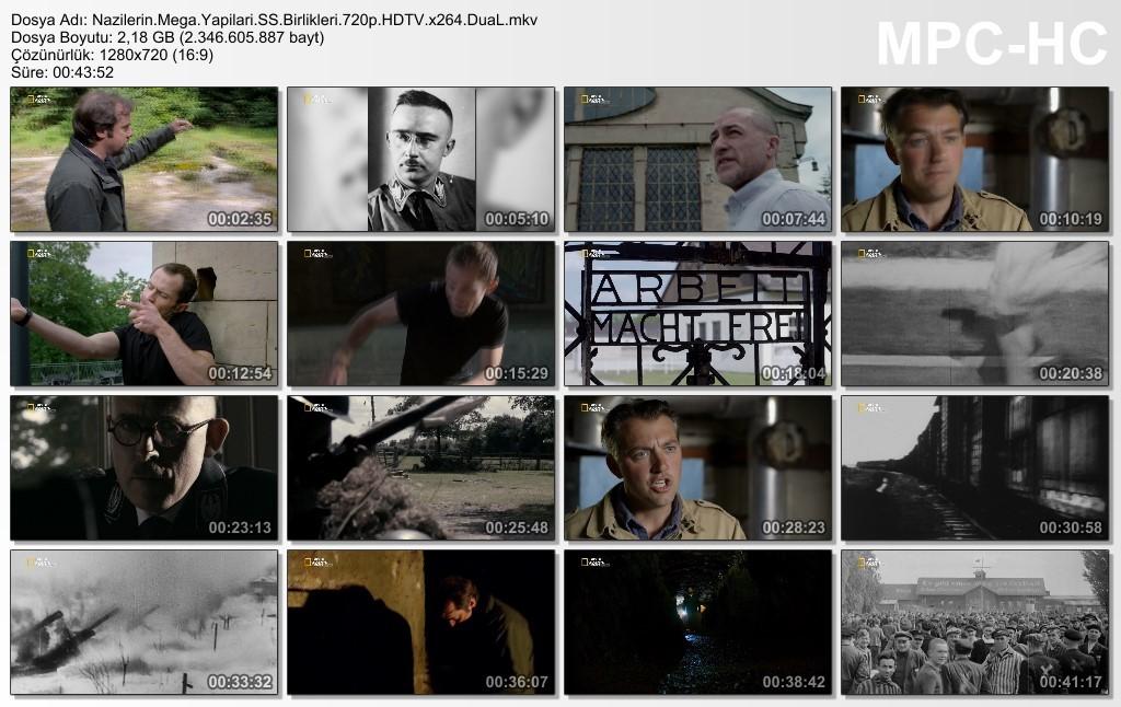National Geographic - Nazilerin Mega Yapıları (SS Birlikleri) HDTV TR-EN DUAL x264
