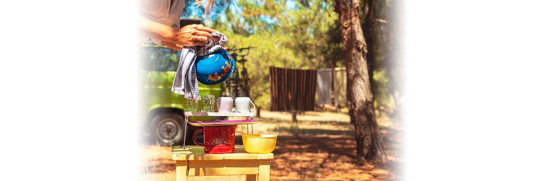 gerçek kampçı kimyasal içerikli deterjan kullanmaz