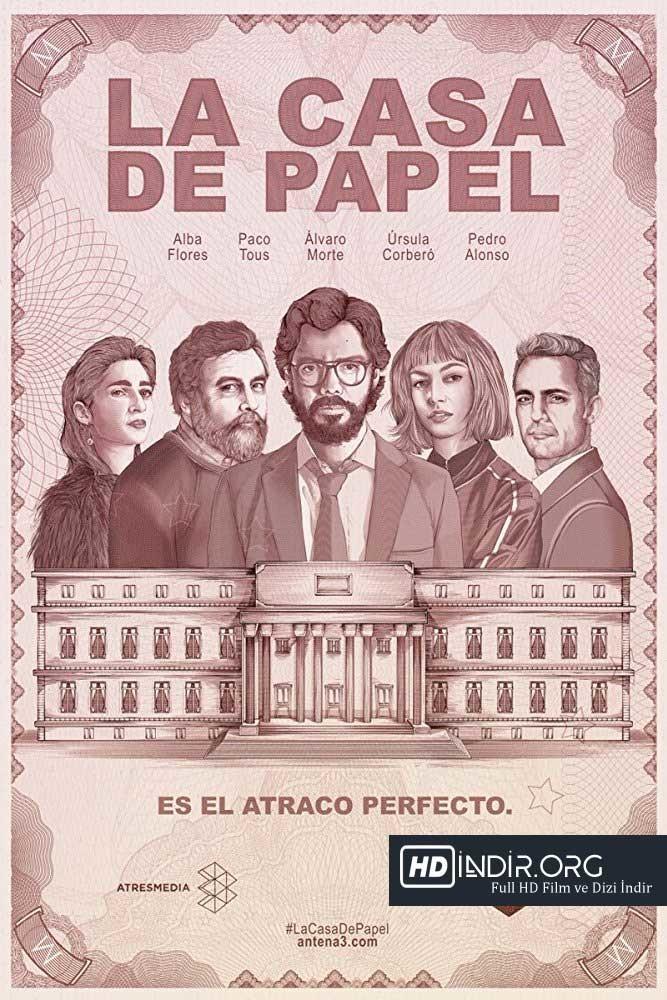 La Casa De Papel - Darphane Soygunu (2017) 1. Sezon Türkçe Altyazı Full HD İndir