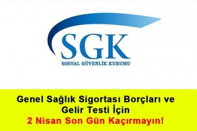 GSS borcu olanlar dikkat