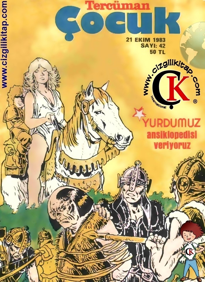 Çocuk Dergisi, Tercüman Çocuk
