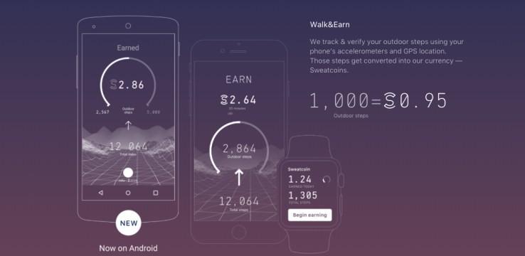 Yürüyerek Para Kazandıran Mobil Uygulama