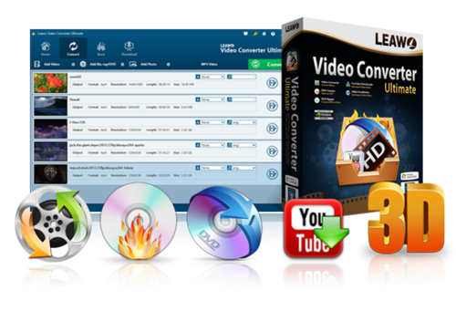 Leawo Video Converter Ultimate 7.8.0.0 Multilingual Full İndir