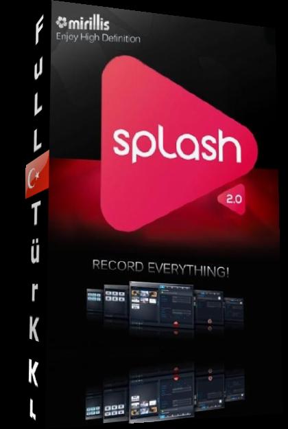 Mirillis Splash 2.0.2.0 FuLL Türkçe ve MultilinguaL