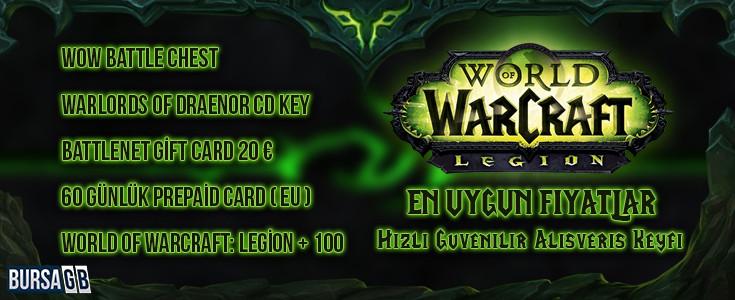World of Warcraft'ta En Düşük Fiyatlar BursaGB'de
