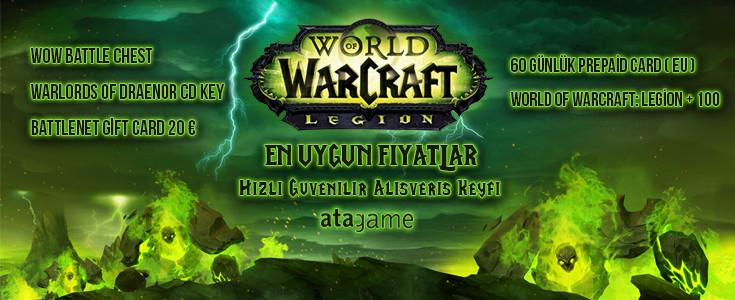 World Of Warcraft 'ta En Cazip Fiyatlar Atagame'de