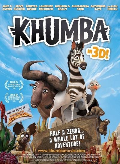 Cesur Zebra - Khumba 2013 3D HSBS 1080p Bluray x264 Türkçe Dublaj - Tek Link