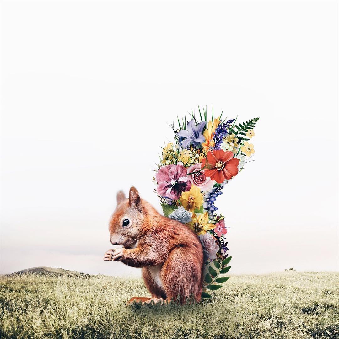 Luisa Avezedo'nun Umulmadık Nesneleri Birleştirerek Yaptığı Olağan Dışı Sanat 17. resim