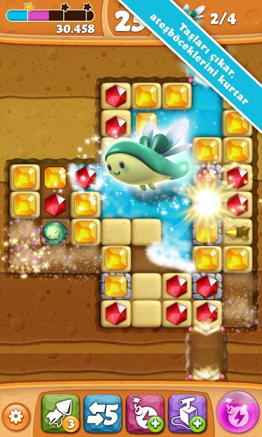 Diamond Digger Saga Android Oyun